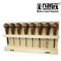 NAREX 868700 PROFESSIONAL 8PC palm CARVING SET WOOD TOOL WHITTLING CHIP CARVERS
